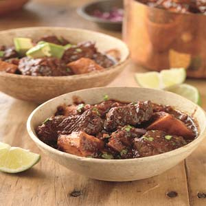 Ancho Spiced Beef Stew