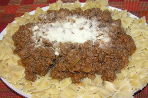 Ground Beef and Macaroni Skillet Supper
