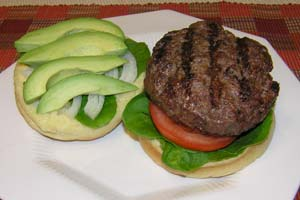 Blue Cheese Stuffed Hamburger